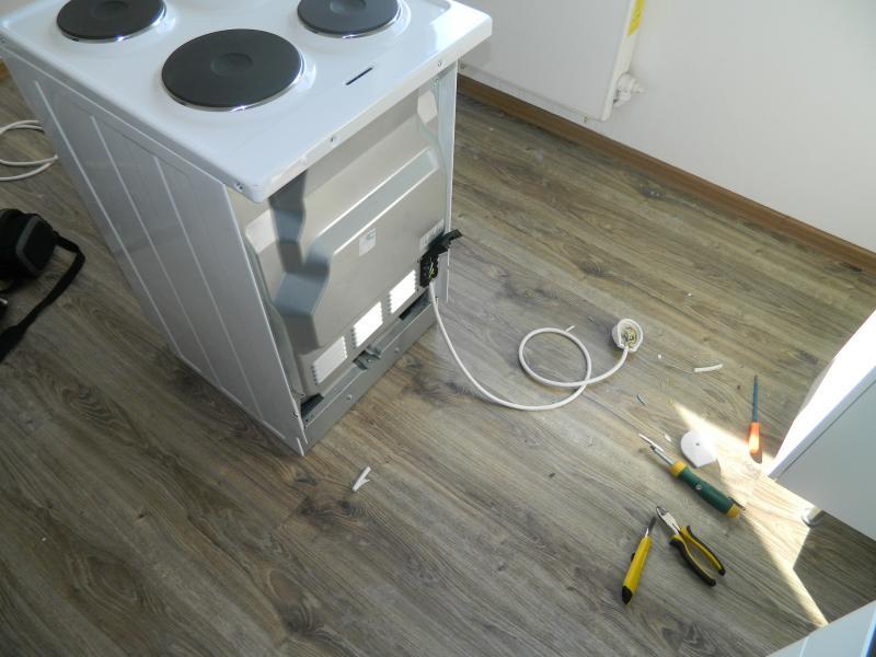 Как самому установить газовую плиту